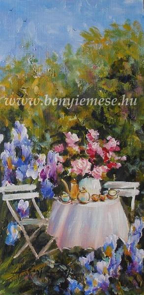 Romantika - tájkép festmény