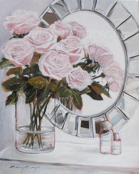 Festmény - Pasztell ragyogás - Csendélet