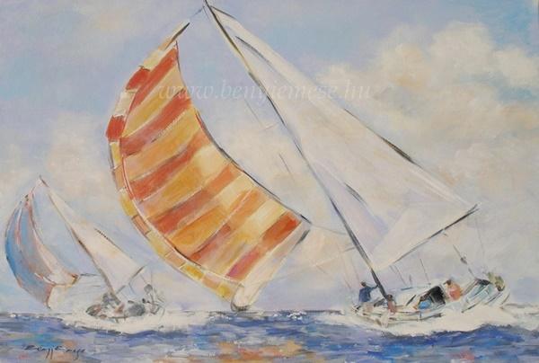 Szelek szárnyán - Tájkép festmények