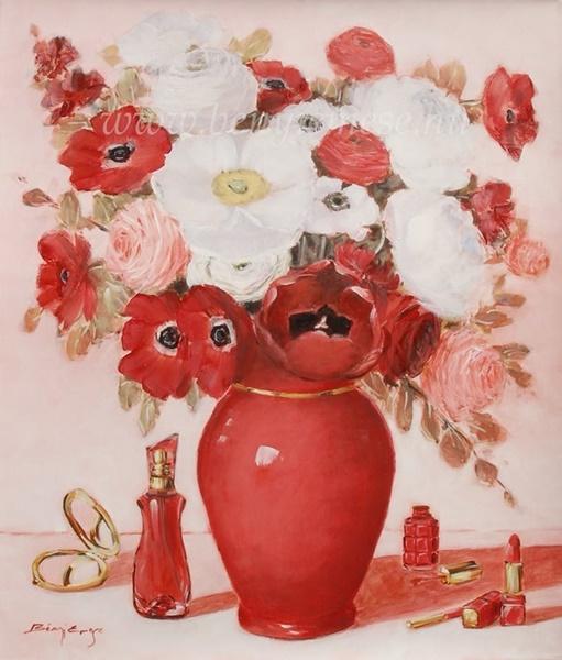 Szerelem illata - Csendélet festmény